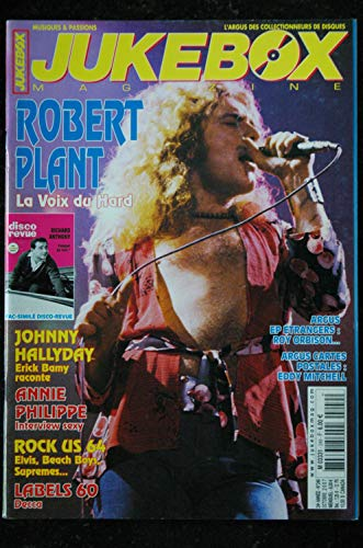 JUKEBOX 249 * 2007 * Robert PLANT JOHNNY Beach BOYS Fac-Similé DISCO-REVUE 5 Richard ANTHONY