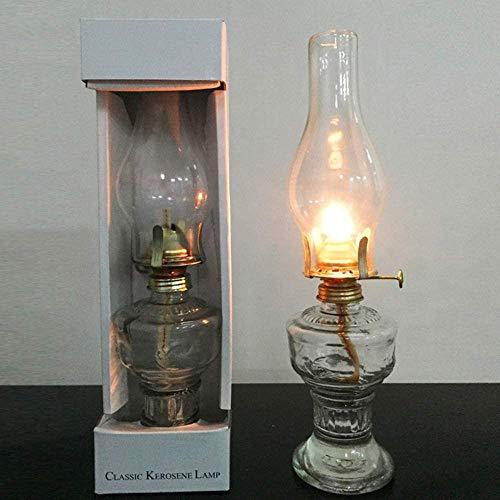 Antike Öllampe Alte Lampenöl Lampenöl Kerosin Land Vintage Retro-Lampe Kreative DIY Tisch Petroleumlampe