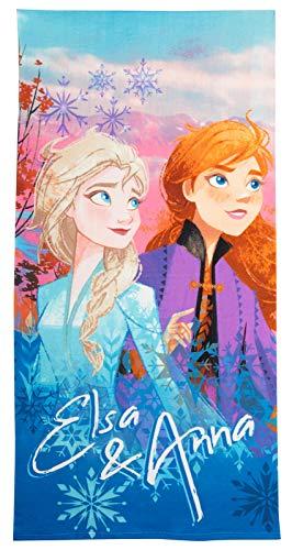 Meisjes Disney Frozen 2 Strandhanddoek Kinderen Elsa Anna Zwembad Vakantie Zwemmen Wrap