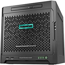 HP ProLiant MicroServer Gen10 Ultra Quad-core 8GB DDR4 SDRAM Serial ATA/600 Controller Micro Tower Server Model P03698-S01