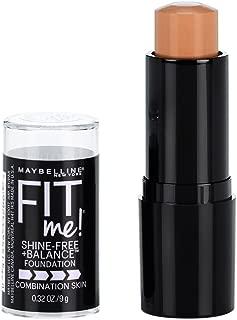 Maybelline New York Fit Me Shine-Free + Balance Stick Foundation, Pure Beige, 0.32 oz.