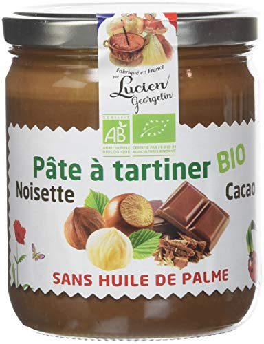 Lucien Georgelin Pâte à Tartiner Bio 400g - Lot de 3