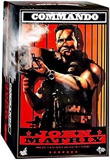 Hot Toys Movie Masterpiece Arnold Schwarzenegger Commando John Matrix 1/6 Scale 12
