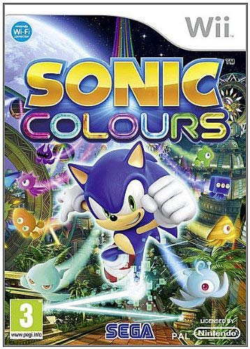 Wii - Sonic Colours Occasion
