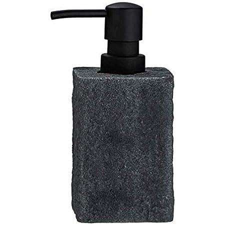 Distributeur de savon Villata Gris, Distributeur de savon liquide , distributeur de liquide vaisselle, 0.3 l
