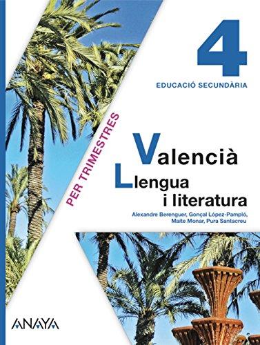 Valencià: Llengua i literatura 4.