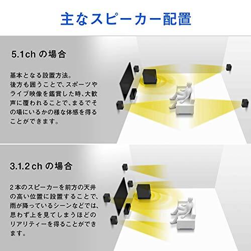ONKYO5.1chシアターシステム/DolbyAtmos対応/DTS:X対応/4K対応/ブラックHT-S3910(B)
