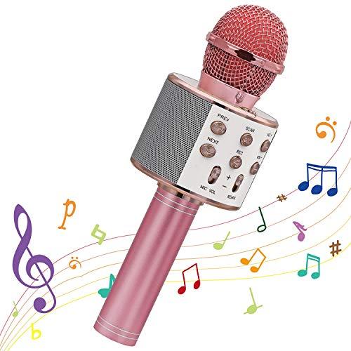 Wireless Karaoke Microphone, Ankuka Bluetooth Karaoke Microphone Handheld...