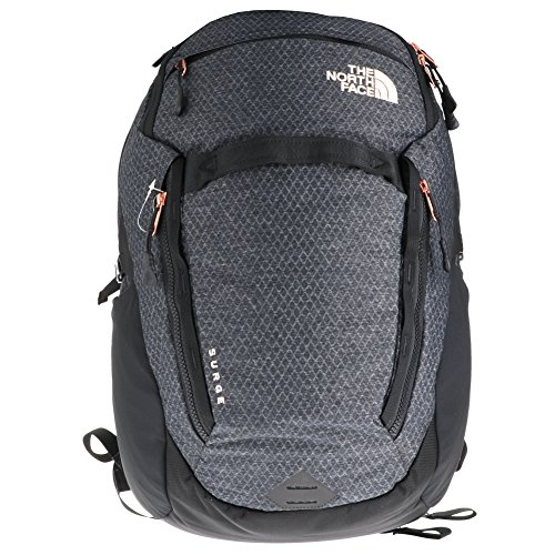 The North Face W Surge Tnf Tnt Negro Htr/Burnt Coral Met Mujer Outdoor Size OS