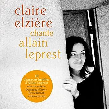 Claire Elzière chante Allain Leprest