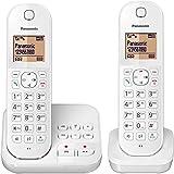 Panasonic KX-TGC 422 GW, schnurloses Handy mit Anrufbeantworter & Zusatz-Set, weiss