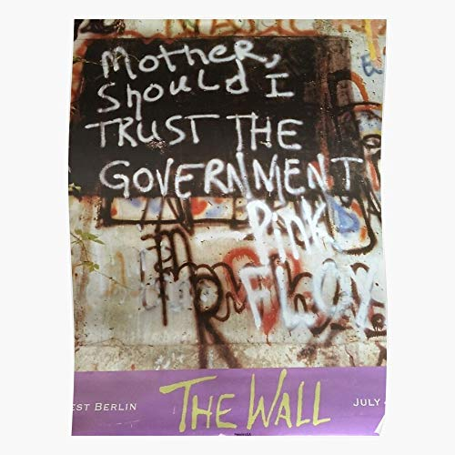 Hardymedicalsupplies Should Social Retro Protest Graffiti Mother Trust Government Justice Home Decor Wandkunst drucken Poster !