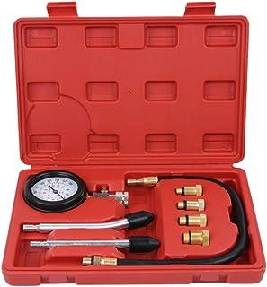 Wakauto Kit testador de compressão de cilindro de motor a gás a gasolina, detector de vazamento de cilindro, ferramenta au...