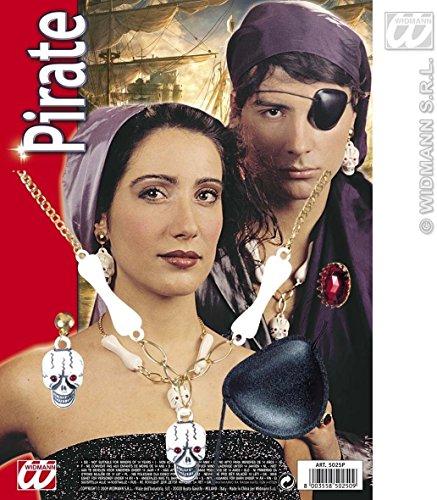 Generique - Kit Accessoires Pirate Adulte