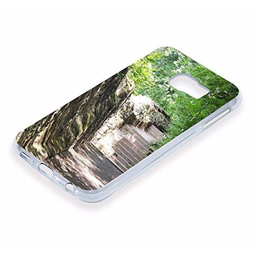 PixiPrints Foto-Handyhülle mit eigenem Bild kompatibel mit Samsung Galaxy A51, Hülle: TPU-Silikon in Transparent, personalisiertes Premium-Hülle selbst gestalten mit flexiblem Druck