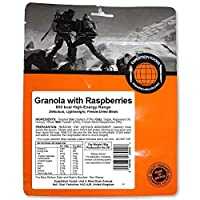 EXPEDITION FOODSexpeditionfoods.com Expedition Foods High Energy Serving Granola with Raspberries-Orange, 800kcal
