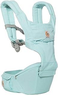(跨境自营)(包税) ERGObaby 坐垫式六式婴儿背带 冰蓝 BCHIPAISLBL