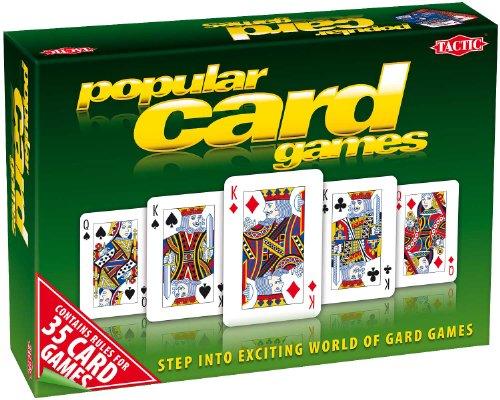 Tactic Games UK - Set per Vari Giochi di Carte, con Istruzioni [Lingua Inglese]