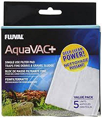 Fluval Ersatz-Filter Vlies, Feinfiltermatte für Aqua-Vac Sauger Mulmsauger