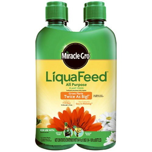 Miracle-Gro Liquafeed All Purpose Plant Food, 4-Pack Refills