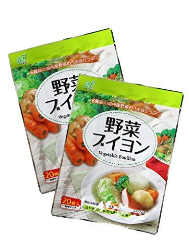 ヘイセイ 野菜ブイヨン(化学調味料無添加) 40袋入り(20袋入×2)