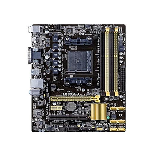 Newwiee Fit for Socket FM2 / FM2 + ASUS A88XM-A Placa Base del Servidor Placa Base DDR3 64GB AMD A88X AMD A10 / A8 / A6 / A4 / Athlon PCI-E 3.0/2.0 Escritorio A88X Placa-Mãe FM2 +