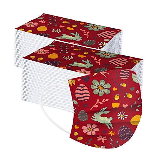 Pañuelo desechable de tres capas para adultos con degradado impreso a prueba de polvo