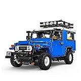 QXF-D Offroad-Fahrzeuggebäude Set, 1:12 2101 stücke Auto Bausteine Montage Auto Ziegel Spielzeug Kinder Geschenke (Color : Static Version)