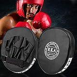 BALLSHOP 2X Handpratzen Schlagpolster Handschlagpolster Boxpratzen Pratzen Boxtraining Pratzen Focus Pads Thaiboxen Kick Pads