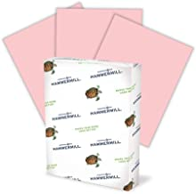 product image for Hammermill 103382 Recycled Colored Paper, 20lb, 8-1/2 x 11, Pink, 500 Sheets/Ream