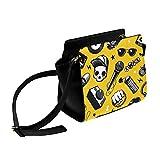 Luxus Umhängetasche Microphoto Music Art Umhängetasche Umhängetaschen Reisetaschen Seesack Umhängetaschen Gepäck Für Damen Mädchen Damen Luxus Damen Tasche