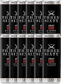 Three Sixty Effect & Vodka 12 x 0,33 Liter