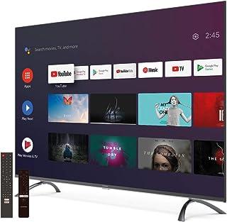 Strong - Smart Android TV 4K UHD met DVB-T2/C/S2, 50 inch, zwart/zilver
