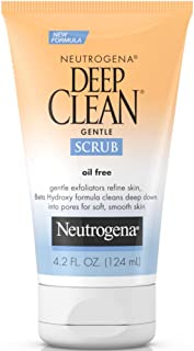 Neutrogena Neutrogena Deep Clean Gentle Facial Scrub, 4.2 oz (Pack of 2)