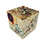 V-Cube - Cubo con diseño de Kandinsky, multicolor , color/modelo surtido