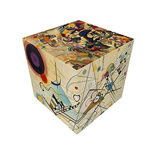 V-Cube - Cubo con diseño de Kandinsky