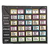 Fun Express Small Group Rotation Pocket Chart...