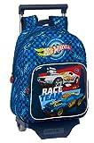 Safta Mochila Infantil de Hot Wheels con Carro 705, 270x100x330mm, azul