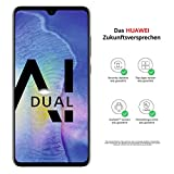 Huawei Mate20 Dual-SIM Smartphone Bundle (6,53 Zoll, 128 GB interner Speicher, 4 GB RAM, Android 9.0, EMUI 9.0) schwarz + USB Typ-C-Adapter [Exklusiv bei Amazon] - Deutsche Version