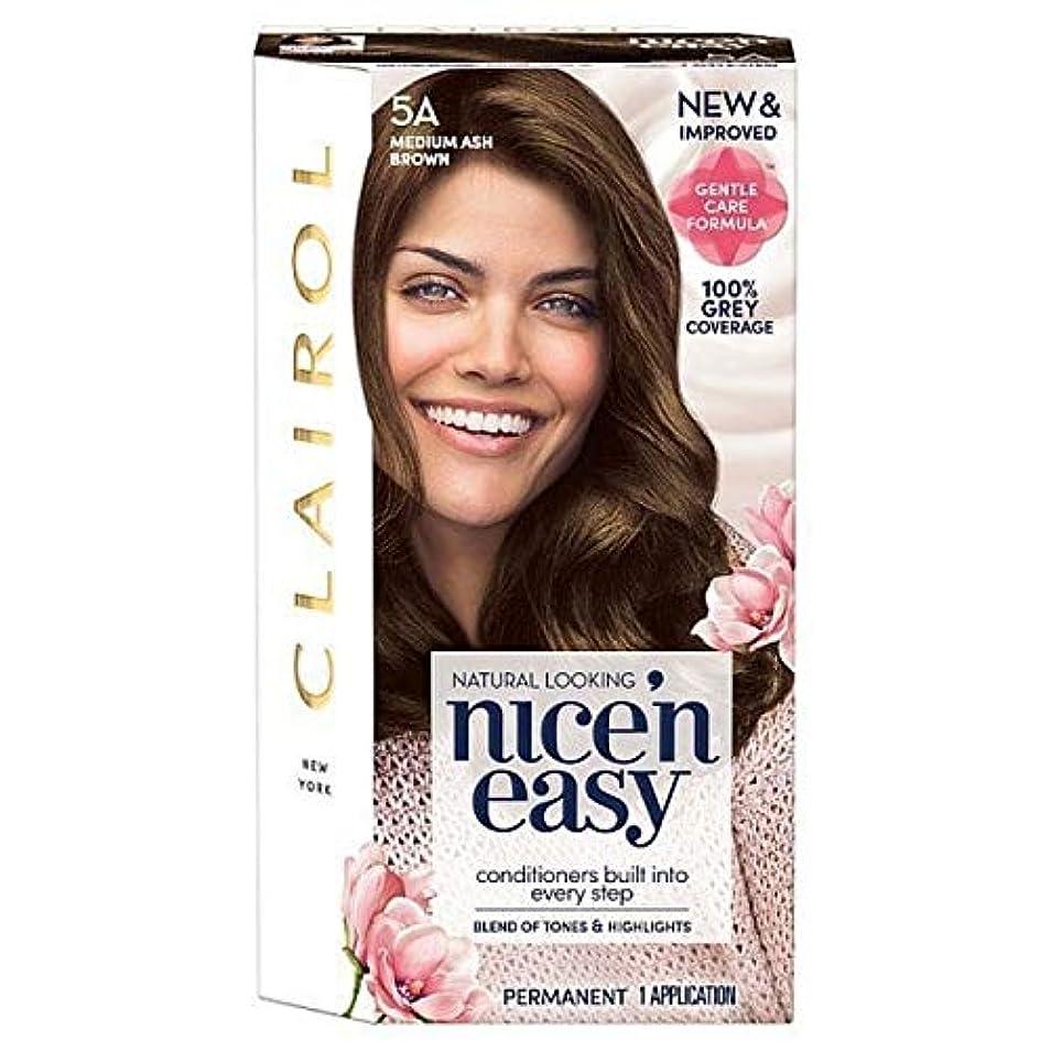 欲しいですレコーダーブロー[Nice'n Easy] Nice'N簡単な図5A中アッシュブラウン - Nice'n Easy 5A Medium Ash Brown [並行輸入品]