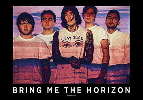 Bring Me The Horizon - Press Shot - Poster Drapeau 100% Polyester - 110 x 75 cm