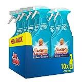 Don Limpio Baño, Detergente en Spray, 7.2 L (10 x 720 ml), Elimina el 100 % de los Restos de Jabón, Aroma Fresco, Mega Pack