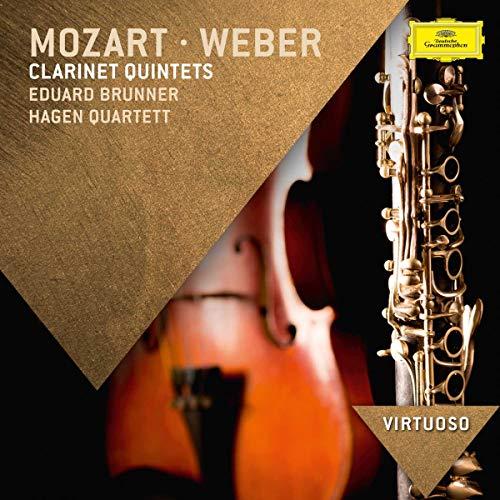 Quintetti Per Clarinetto (Mozart In A Major K581,Weber In B Flat Major Op.34
