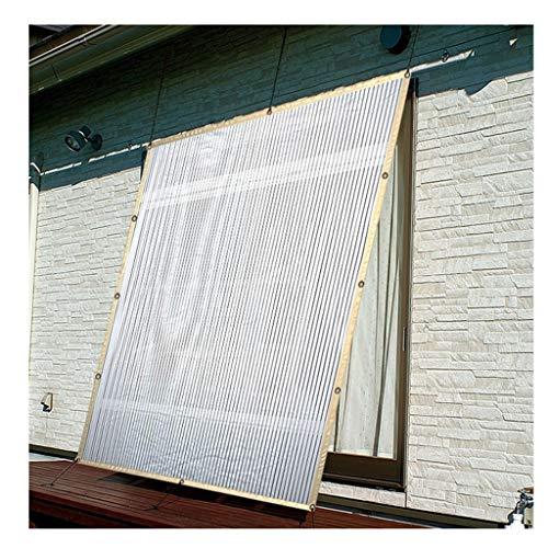 Parasol polyvalent Zjnhl Filet pare-soleil Filet d'isolation solaire pour fenêtre de balcon Bordure de toit en verre Salle de jardin Jardin Maison Refroidissement intérieur Blocage de la chaleur Prése