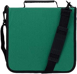Blue Donuts 288 Capacity CD/DVD Binder Storage Holder Organizer Carrying Case, Green