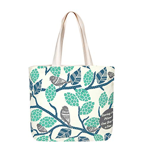 EcoRight Large Canvas Tote Bags for Women | Travel Bag for Women, College Handbags for Girls Stylish | Shoulder Bag for Women with Zip for Shopping, Beach, Office, Grocery