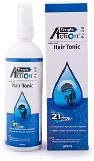Qraa Triple Action Hair Tonic for Hair Fall Control - 200ml