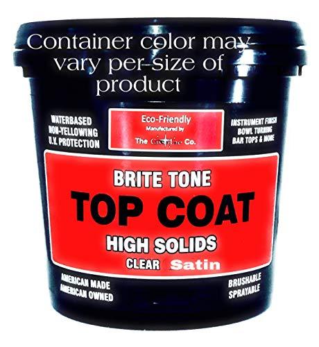 CrystaLac Brite Tone High Solids Polyurethane Instrument Finish 16 oz Pint (Clear Satin)