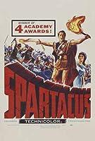 ポスター A4 パターンB スパルタカス (1960) 光沢プリント
