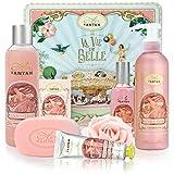Beauty Box Set ROSE 5 Produkte Un Air d'Antan: 1 Duschgel 250ml, 1 Handcreme 25ml, 1 Seife 100g, 1...